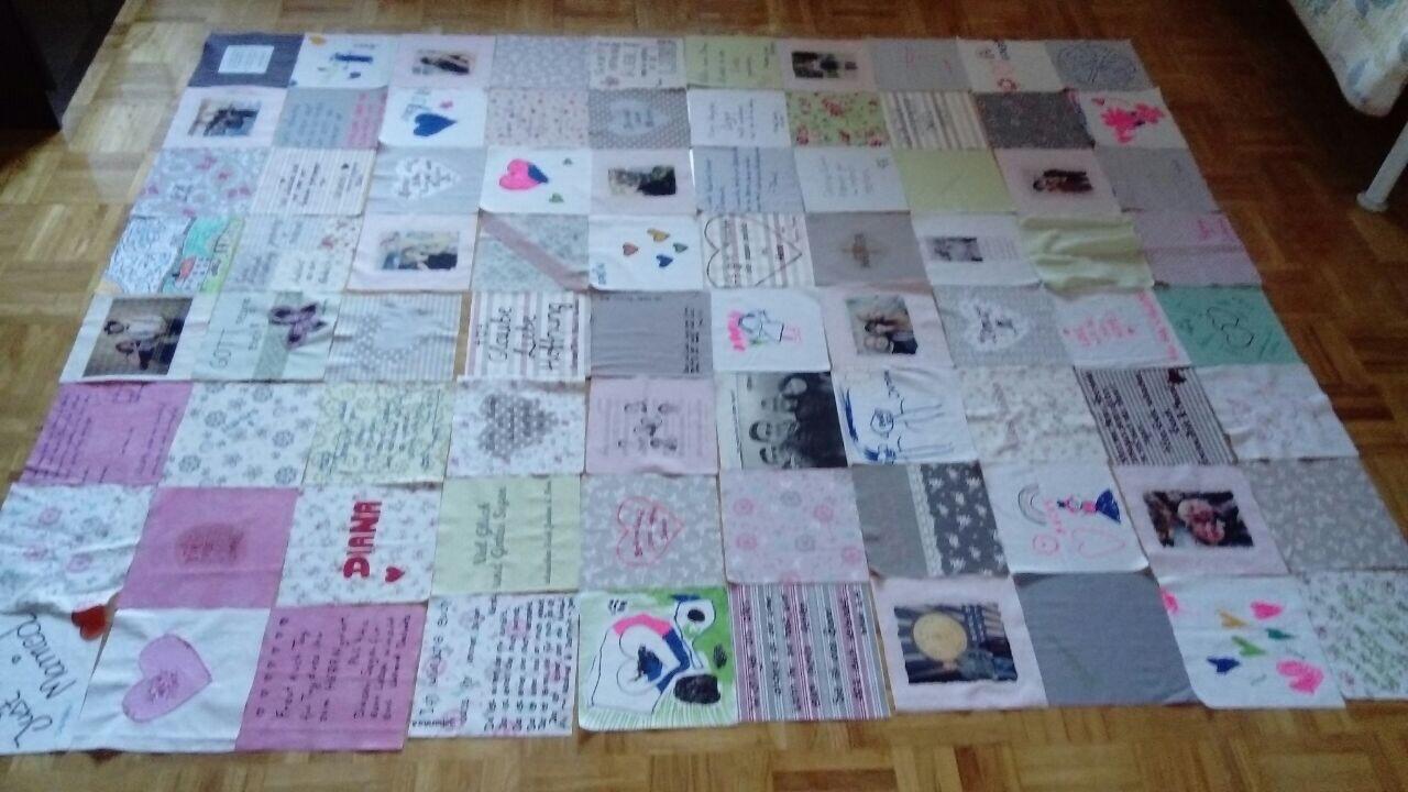 Gestalten patchworkdecke selbst Personalisierte babydecke